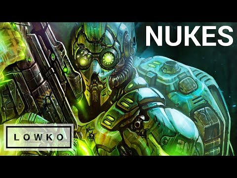 StarCraft 2: TONS OF NUKES IN A PRO GAME!