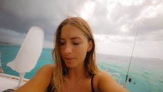 Gloomy Days Onboard.. Freediving Pregnancy Scare! Ep. 175