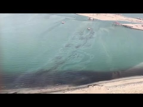 Kuwait is battling a 5,000 ton oil spill