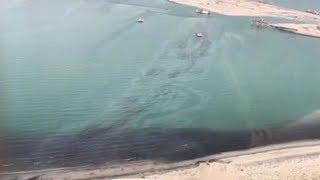 Kuwait is battling a 5,000 ton oil spill