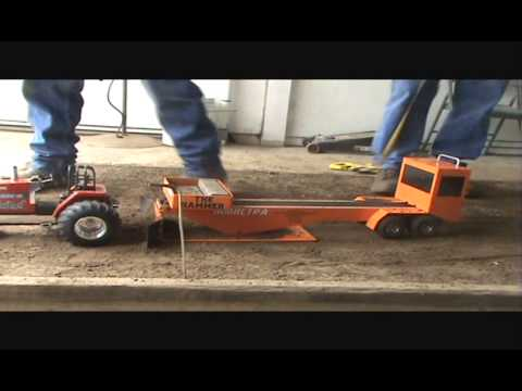 R/C Truck and Tractor pulling MMRCTPA Final Round