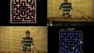 Pac Man Theme on Marimba