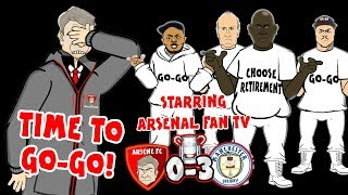 Download Video ⏰WENGER - TIME TO GO-GO!⏰ Arsenal Fan TV sing Arsenal 0-3 Man City (Carabao Cup Final 2018 song) MP3 3GP MP4