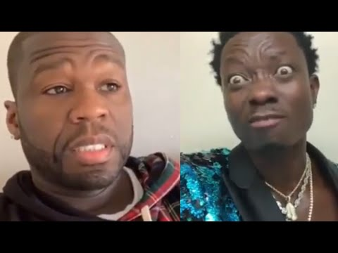 50 Cent Says Michael Blackson Owes Him Money After Drinking His Bottles