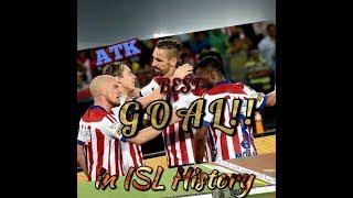ATK best goal in home mach yuba bharati vs pune city and fans roaring