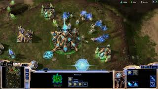 StarCraft II PC Gameplay 1 Trying out Co op multiplayer w Fujin and Arlsphnx