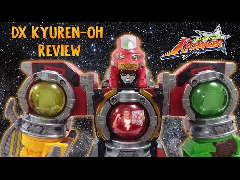 Yosha Lucky~ DX KyurenOh Review! -  Uchu Sentai Kyuranger - 9 Power Rangers Space