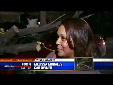 Windy weather causes Dallas damage