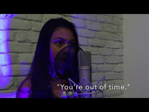 RISE | Katy Perry w/lyrics - cover by Sydney Haik | 10yrs old