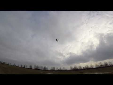 E-Flite Timber on 4s and opterra propel