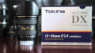 Tokina 11-16mm f/2.8 AT-X PRO DX II Lens Review w/ Example Photos