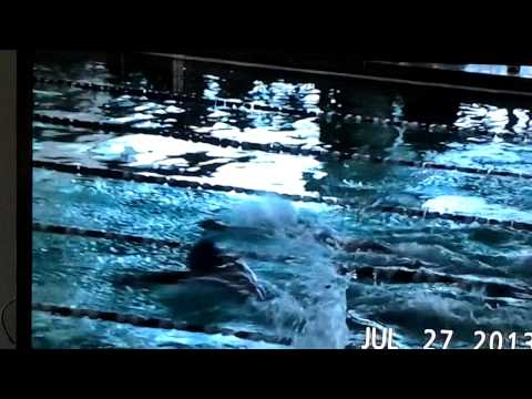 Sarah Kate 50yd Butterfly City/County 2013