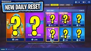 The NEW DAILY Items In Fortnite: Battle Royale! (Skin Reset #69)