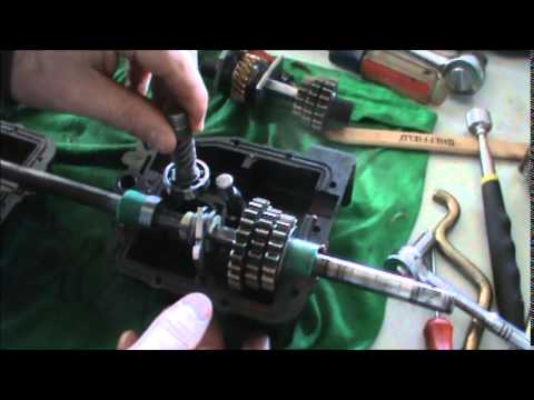 Honda HRT 216 Transmission Repair Part 2