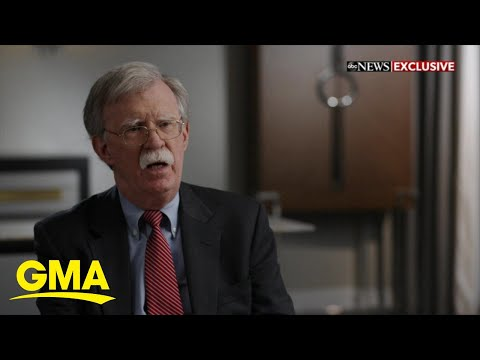 John Bolton says Trump 'not fit for office' l GMA