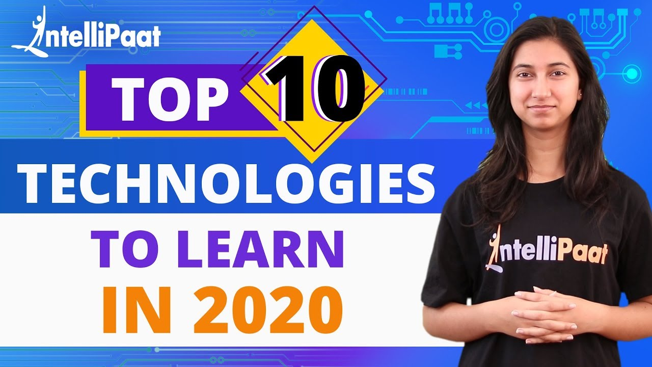 Top 10 Technologies to Learn in 2020 | Trending Technologies 2020