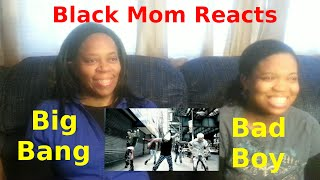 black mom reacts to bigbang bad boy m v