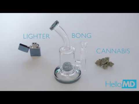 Cannabis 101: How to Use A Bong - HelloMD