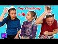 CUP CHALLENGE # 3 | Lapte ,oua si faina | Poftim la CLATITE :)