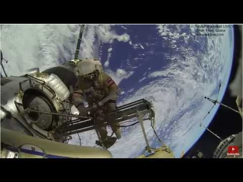 satellite repair on space