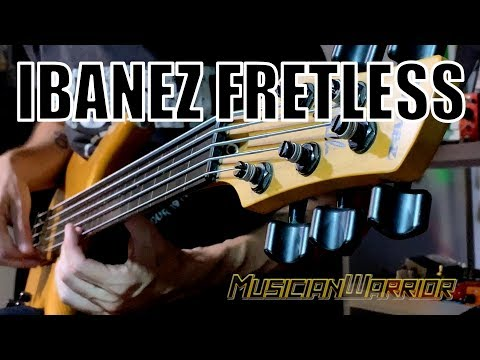 Ibanez Gary Willis Fretless Bass | One Of The Nicest Basses Around