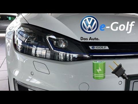 Volkswagen e-Golf 2018 review in 4K (interior&exterior)
