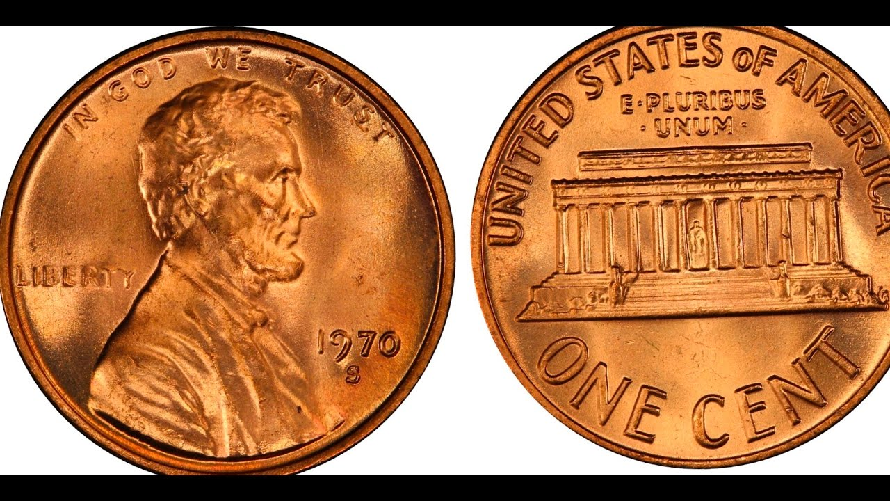 1970 S UNCIRCULATED USA Small Cent