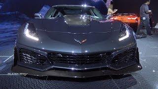 2019 Chevrolet Corvette ZR1 - Exterior And Interior Walkaround - LA Auto Show 2017