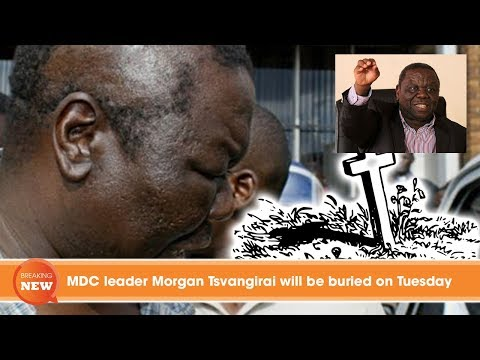 MDC leader Morgan Tsvangirai to be buried on Tuesday