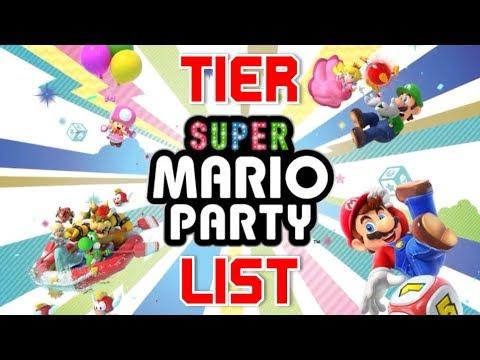 Super Mario Party Tier List Youtube