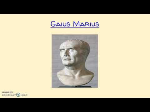 Unit 5- Marius and Sulla