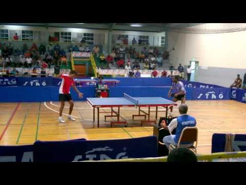 Trinidad table tennis Solo Nationals 2015 Dexter st. louis vs david Mahabir full
