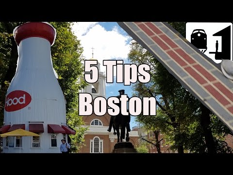 Visit Boston - 5 Tips for Visiting Boston