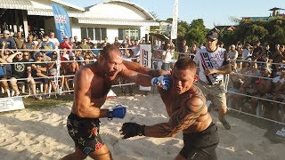 The Man of the Crowd 110 kg vs PRO MMA Fighter !!!