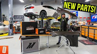 Building and Heavily Modifying a 2020 Ford Mustang GT: Part 7: New Fenders! Mishimoto Parts!