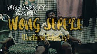 Gambar cover Ndarboy Genk - Wong Sepele [Unofficial Video Clip Lirik Cover]. Toni belokkanan by TVMISALE