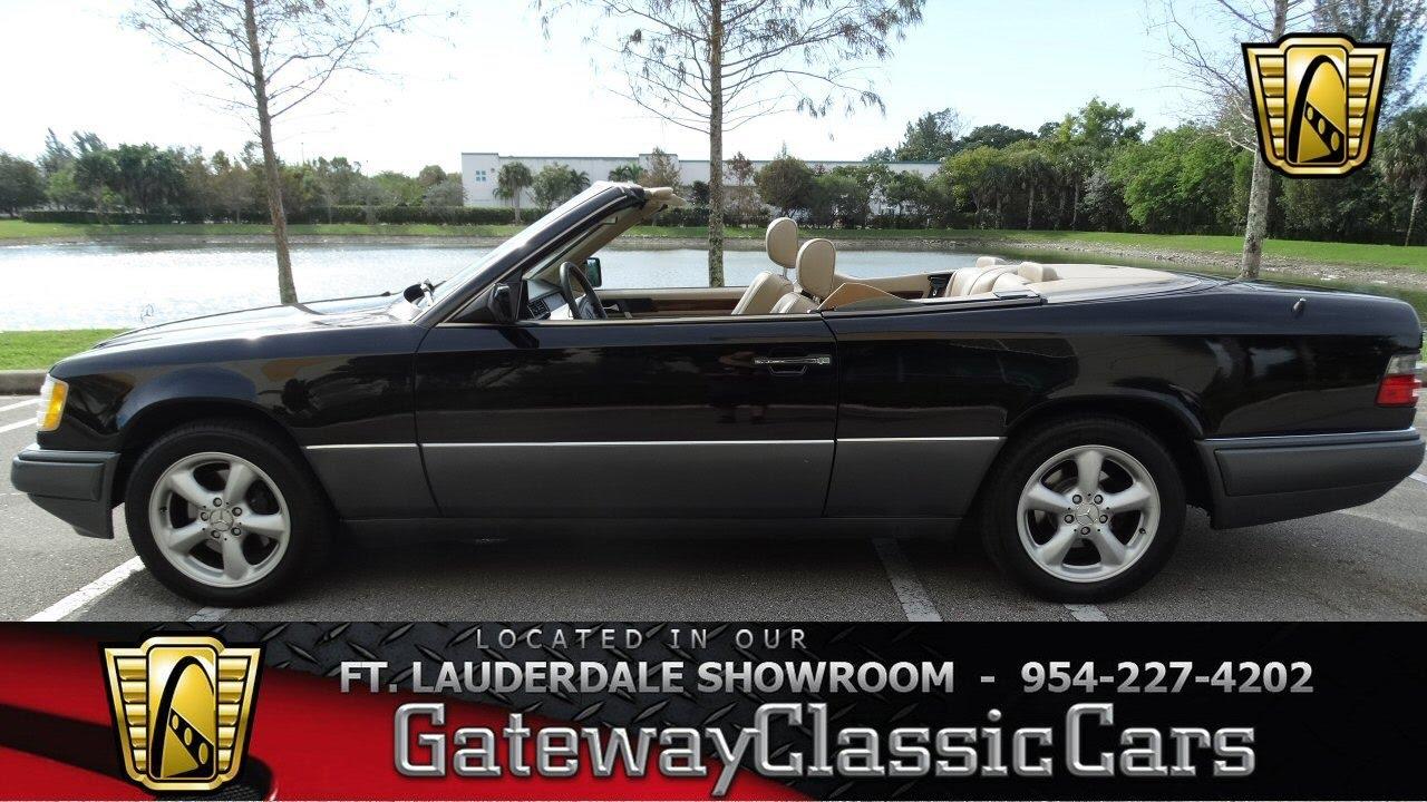 407 ftl 1994 mercedes benz e320 convertible youtube for Mercedes benz e320 convertible for sale