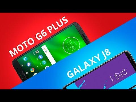 213fad6fa86 Moto G6 Plus vs Galaxy J8 [Comparativo] - YouTube