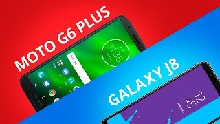 Moto G6 Plus vs Galaxy J8 [Comparativo]
