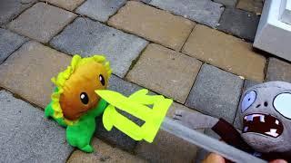 Plants vs. Zombies Plush Short: The Stubborn Sunflower!