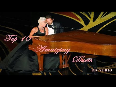 Top 10 Amazing Duets 8D Audio 🎧 ( love song )