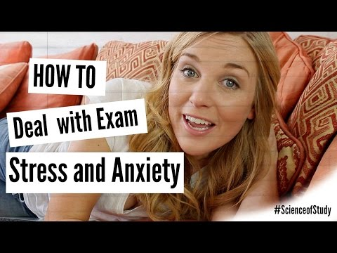 How To Deal With Exam Stress And Anxiety | Science Of Study #6 | Maddie Moate