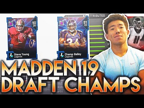 MADDEN 19 DRAFT CHAMPIONS! STACKED TEAM!