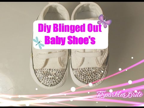 How To Bling Out Converse Baby Shoe s April 2017 - YouTube 3e0bc0589