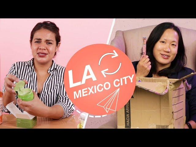 Strangers Swap Mystery Beauty Boxes • LA & Mexico City