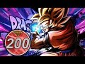MOVIE BOSSES = OP! STAGE 200 OF THE FAMILY KAMEHAMEHA EXTREME Z EVENT! (DBZ: Dokkan Battle)