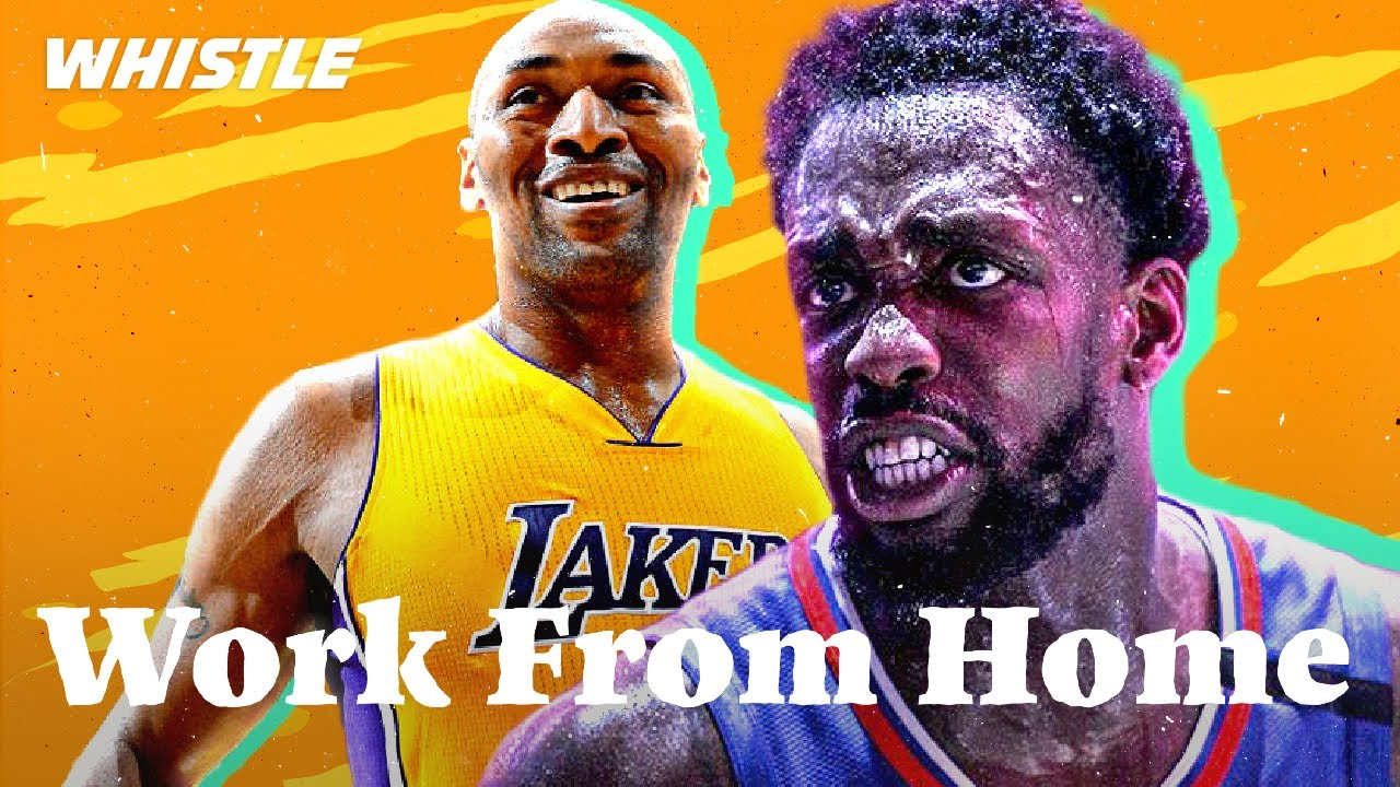 What Are Pro Athletes Up To At Home? 🤔   ft. Pat Beverley, Metta World Peace, & Collin Sexton!