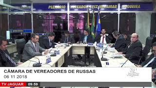SESSÃO CÂMARA DE RUSSAS 06 11 2018