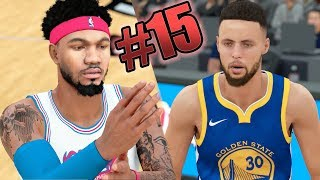 nba 2k18 mycareer gsw hall of fame 3pt cheese nightmare steph curry is op ep 15