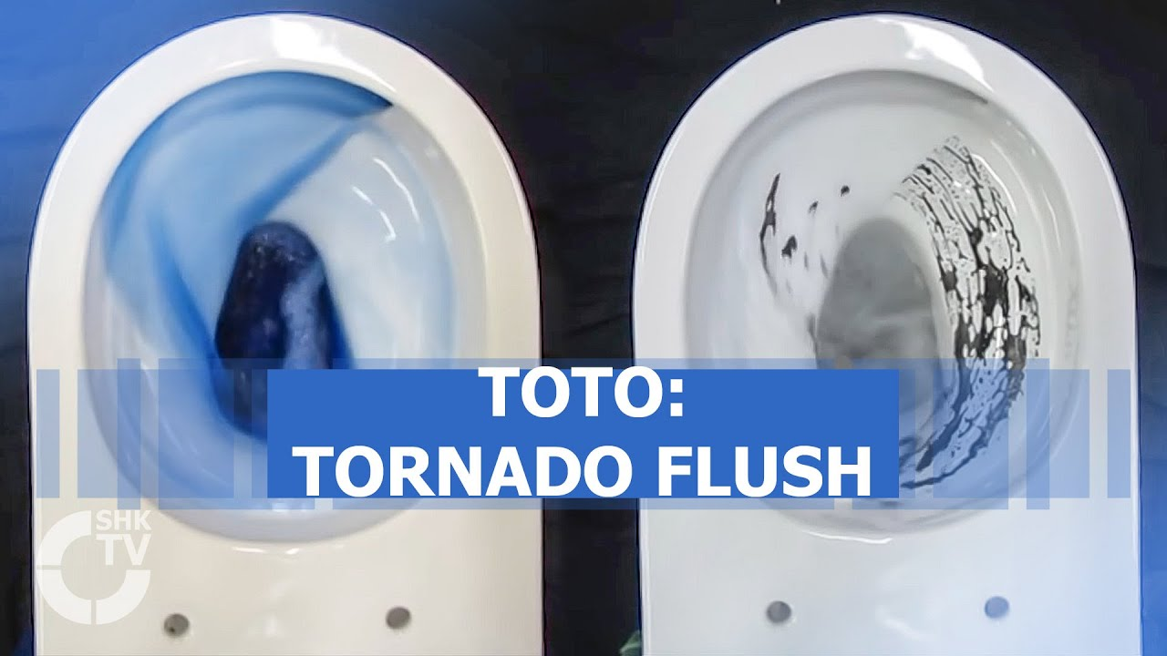 TOTO: WC-Spülung Tornado Flush - YouTube